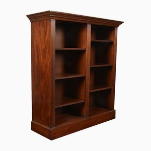 Mahogany Open Bookcase, 1900s