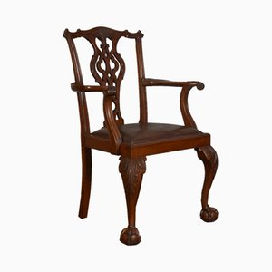Fauteuil Style Chippendale, 1900s