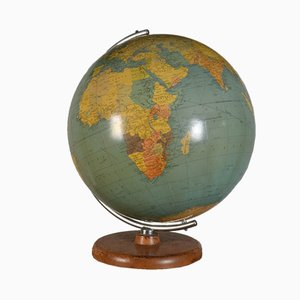 Large Terrestrial Globe from Philips, 1970s