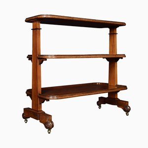Late 19th Century Mahogany Drinks Trolley