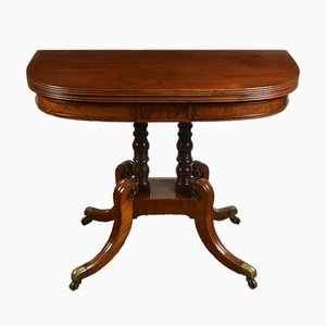 George III Mahogany Tea Table, 1820s