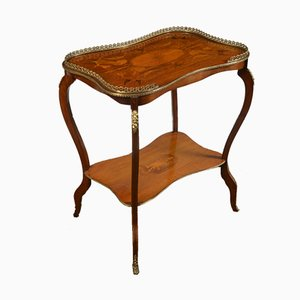 Mahogany Inlaid Occasional Table, 1910s