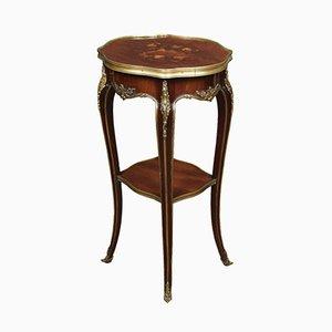 Antiker Tisch aus vergoldeter Bronze mit Intarsien von Gillows