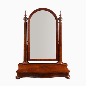 Victorian Mahogany Dressing Table Mirror, 1870s
