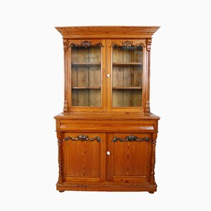 Pitch Pine Kitchen Cupboard, 1920s