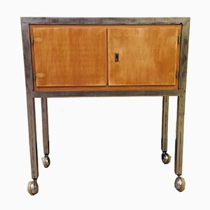Small Industrial Sideboard, 1950s