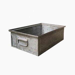 Caja de metal de Philips, años 70