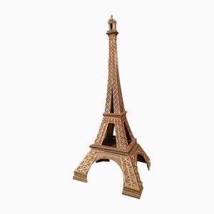 Lámpara vintage en forma de torre Eiffel