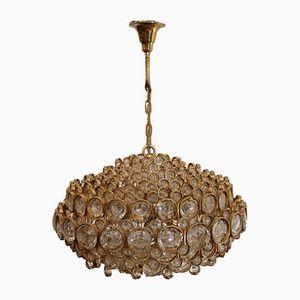 Lámpara de araña grande de Gaetano Sciolari para Palwa, años 60