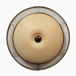 Applique in metallo perforato e plastica, anni '50