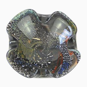 Mid-Century Murano Glass Ashtray from A.V.E.M.