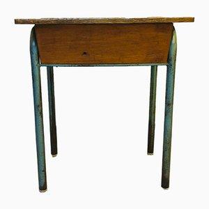 Aufklappbarer französischer Vintage Schreibtisch