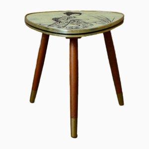 Dreibeiniger Vintage Tisch