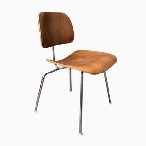 Hölzerner DCM Stuhl von Charles und Ray Eames für Herman Miller, 1940er