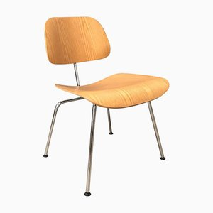 Wooden DCM Chair by Charles and Ray Eames for Vitra, 1940s