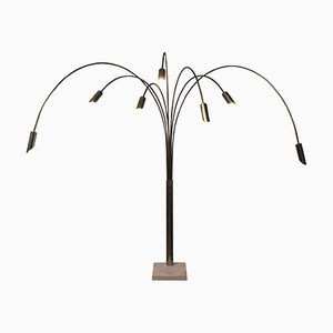 Vintage High Monumental Flexible Adjustable Floor Lamp