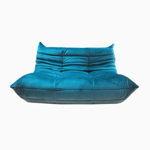 Vintage Togo Loveseat by Michel Ducaroy for Ligne Roset, 1970s