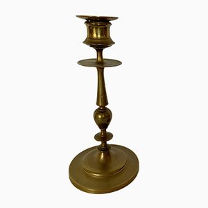 Antique French Bronze Candleholder