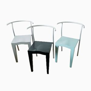 Dr Glob Chairs by Philippe Starck for Kartell, 1994, Set of 3