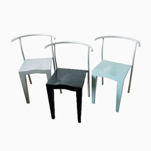 Dr Glob Stühle von Philippe Starck für Kartell, 1994, 3er Set