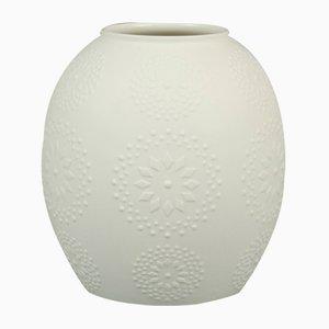 Minimalistische Vase aus Biskuitporzellan von Hutschenreuther, 1970er