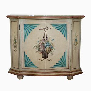 Vintage French Serpentine Fronted Sideboard