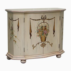 Vintage French Hand Painted Sideboard