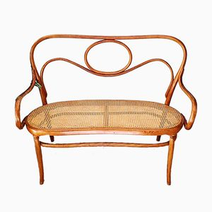 Antique Style No. 14 Bench from Thonet, 1950s