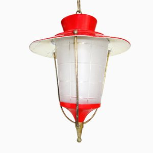 Lámpara colgante Rockabilly Mid-Century
