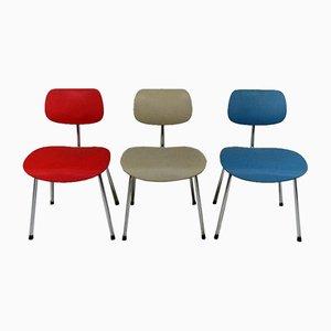 Modell SE68 Stühle von Egon Eiermann für Wilde+Spieth, 1960er, 3er Set