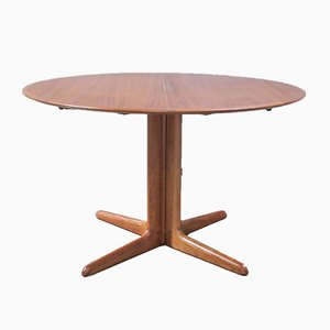 Danish Round Dining Table from Dyrlund, 1960s