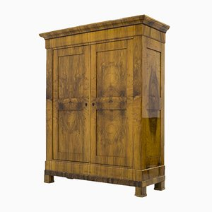 Antique Biedermeier Wardrobe, 1830s