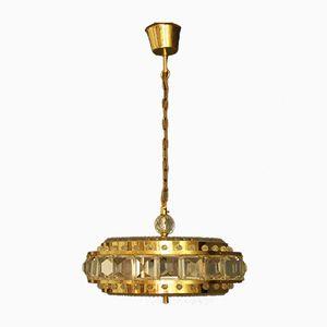 Lampada a sospensione Mid-Century in vetro, Svezia