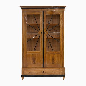Antique Biedermeier Display Cabinet, 1820s