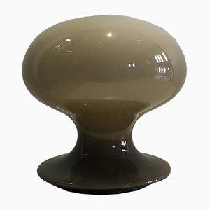 Lampada da tavolo a fungo in vetro di Murano di Vistosi, anni '60