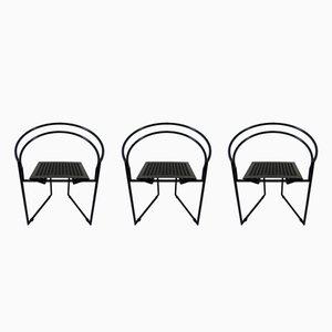 La Tonda Stühle von Mario Botta für Alias, 1980er, 3er Set