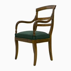 Antique Biedermeier Armchair, 1830s