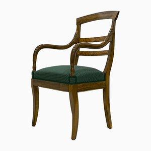 Antique Biedermeier Armchair, 1830s