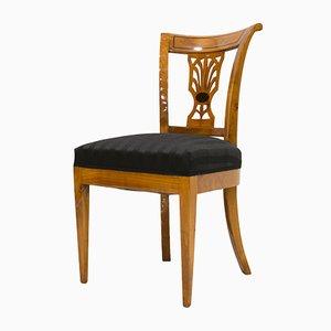 Antique Biedermeier Chairs, Set of 4