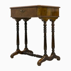 Antique Biedermeier Console Table, 1820s