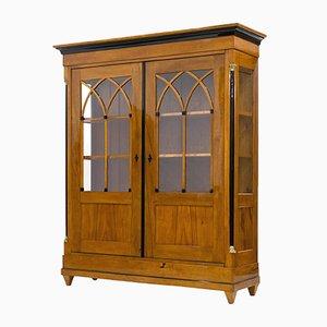 Antique Biedermeier Display Cabinet, 1820s