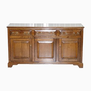 Vintage English Oak Sideboard