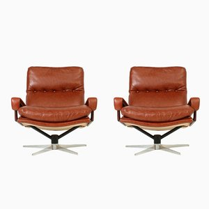 King Chairs by André Vandenbeuck for Arflex, 1960s, Set of 2