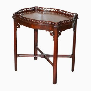 Antique Chinese Mahogany Chippendale Coffee Table