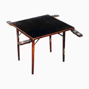 Klappbarer antiker edwardianischer Kartentisch