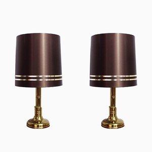 Lámparas de mesa de Wortmann & Filz, años 60. Juego de 2