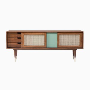 Rattan Sideboard by Meghedi Simonian for Kann Design