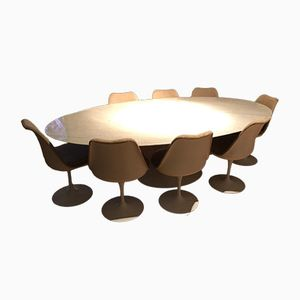 Tulip Dining Set by Eero Saarinen, 1960s