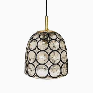 Iron Ring Pendant Lamp from Limburg, 1960s