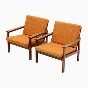 Capella Chairs by Illum Wikkelsø for Niels Eilersen, 1960s, Set of 2